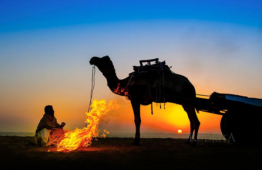 Sunrise at Khuri