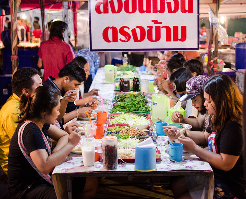 Rudrita Thailand Pattaya Theprasit Market