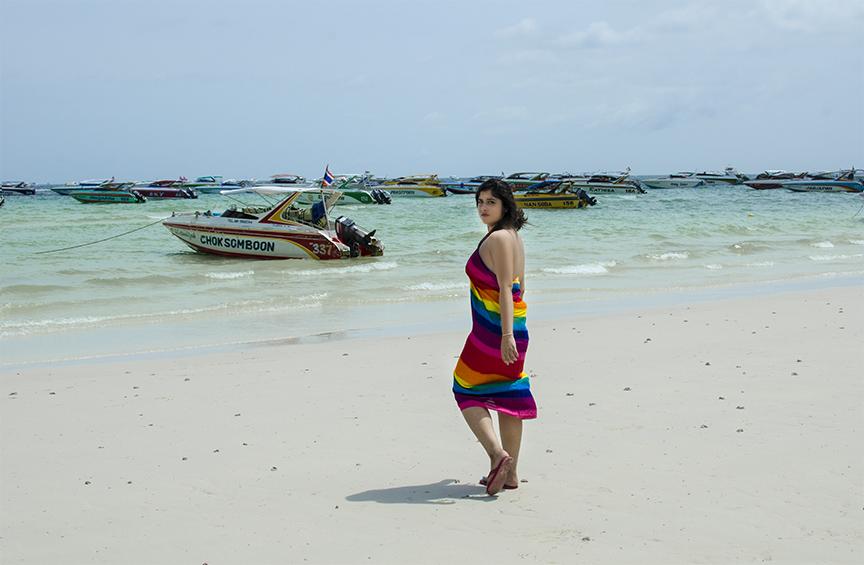 Rudrita X Pattaya X Thailand X Sarong